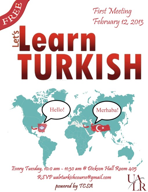 Turkish Course Flyer